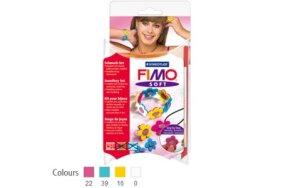 FIMO SET JEWELLERY FLOWERS